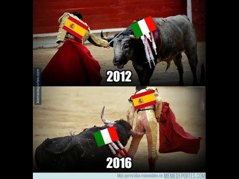 MEMES DERROTAS DE ESPAÑA E INGLATERRA ANTE ITALIA E ISLANDIA EUROCOPA FRANCIA 2016 8VOS DE F1NAL