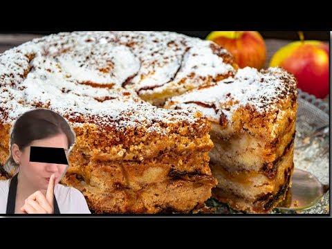 Пирог ТРИ СТАКАНА Насыпной ЯБЛОЧНЫЙ по-болгарски. Самый скандальный пирог Ольги Матвей