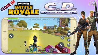 Creative Destruction Clone Game Of Fortnite Battle Royale Download On Any Android | Hd Gameplay