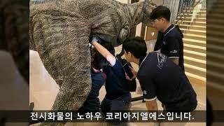 [KOREA GLS]전시화물 공룡전시회 코리아지엘에스 …
