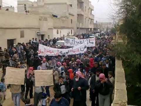 مظاهرة حماه حي كازو جمعة زحف الى ساحات الحرية 30 12 2011 ج1