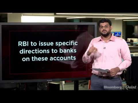 RBI Identifies 12 Large Stressed Accounts For Insolvency