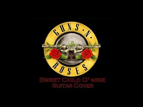 guns n 39 roses sweet child o 39 mine guitar cover youtube. Black Bedroom Furniture Sets. Home Design Ideas