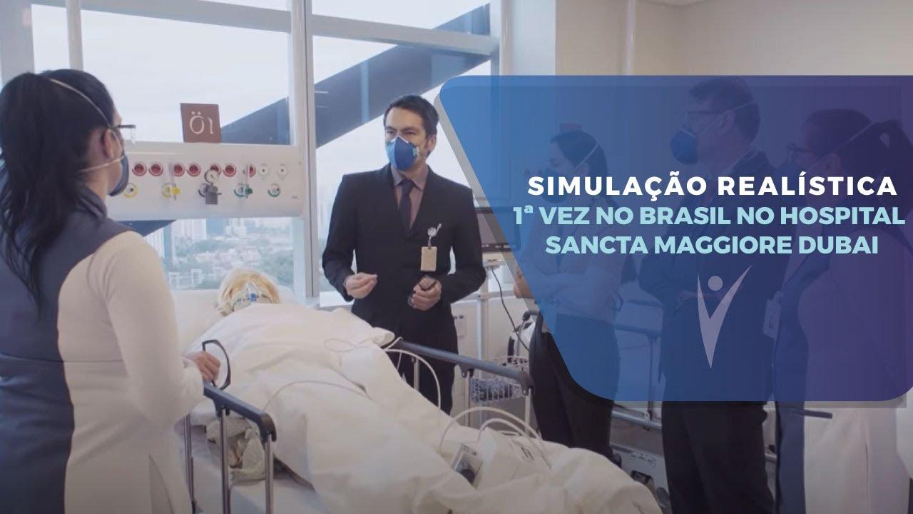 Simulação realística no Hospital Sancta Maggiore Dubai