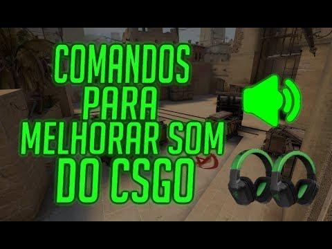 COMANDOS PARA MELHORAR O AUDIO DO CSGO!!! DICAS DE UM NOOB #1