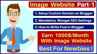 ... earn $1000/month from new image website using adsense |