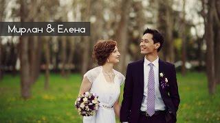 Классная свадьба! Яркая пара! Свадьба в Бишкеке. Мирлан и Елена. Cool wedding!