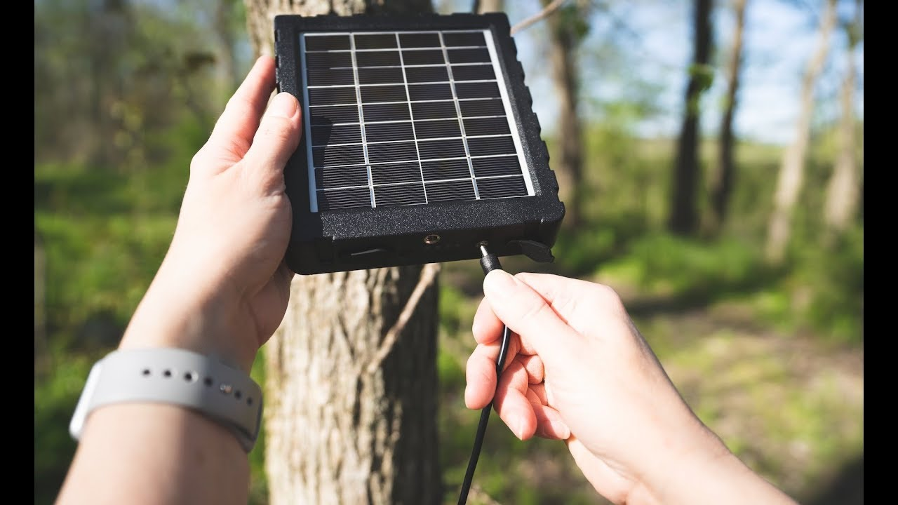 How to Use the Exodus SP18 Solar Panel for Trail Cameras