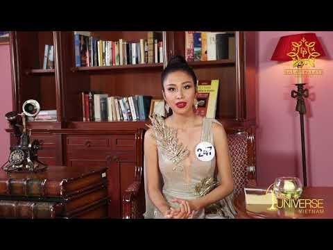 INTERVIEW | Phan Thị Hồng Phúc, SBD 247 | Top 45 Miss Universe Vietnam