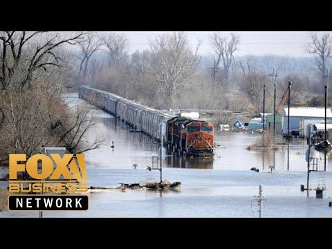 Worst flooding damage in our state's history: Nebraska Gov.