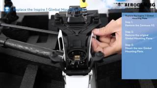 Дрон DJI Zenmuse X5/X5R системы MFT с 4k-видео