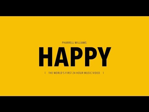 Pharrell Williams- Happy | Letra en inglés y español (Lyrics)