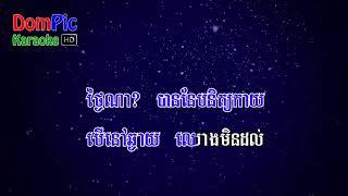 លួចស្នេហ៍ដួងច័ន្ទ មរតកដើម ភ្លេងសុទ្ធ Louch Sne Doung Chan Morodok Derm DomPic Karaoke