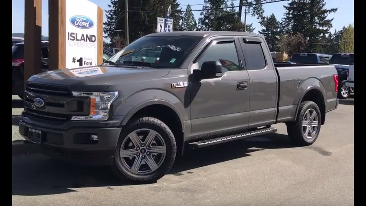 2018 ford f 150 xlt sport 302a v6 supercab review island ford