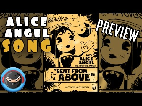 """ALICE ANGEL SONG PREVIEW """"Angel of the Stage"""" (BENDY AND THE INK MACHINE SONG)"""