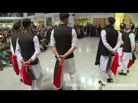 Official Students Attan 2018 at Middle University- London