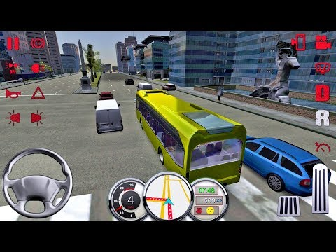 Bus Simulator 17 #35 - Bus Games Android IOS gameplay #busgames