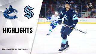 Canucks @ Kraken 9/26/21 | NHL Highlights