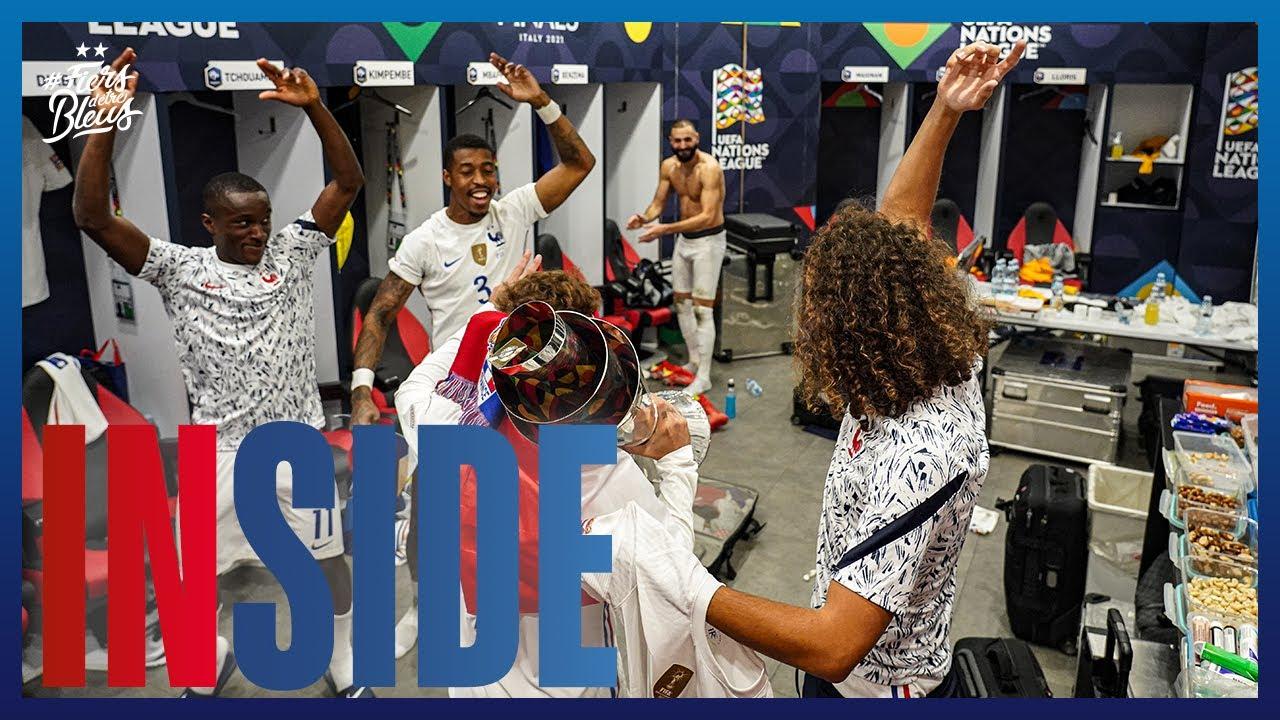 Download Le film de la finale de l'UEFA Nations League, Equipe de France I FFF 2021
