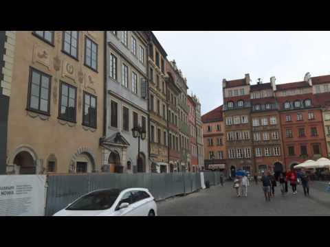 Warsaw Short Walk - Old Town Market