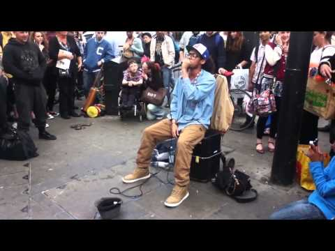 Insane Beatboxer in London! [Hiphop/Dupstep/D&B]