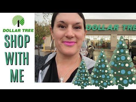 DOLLAR TREE SHOP WITH ME | CHRISTMAS