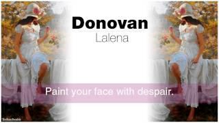 Donovan - Lalena (Lyrics)