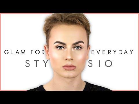 EVERYDAY GLAM TUTORIAL - Moje sposoby na trwały makijaż | Stysio thumbnail