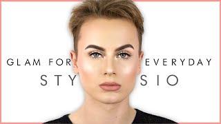 EVERYDAY GLAM TUTORIAL - Moje sposoby na trwały makijaż | Stysio