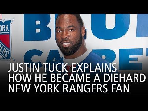 Justin Tuck Explains How He Became A Diehard New York Rangers Fan