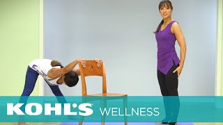Office Yoga: Full Body Stretch | Two Fit Moms | Kohl's
