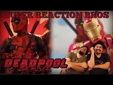 SRB Reacts to Deadpool The Musical 1 & 2