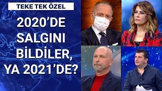 Türkiye'yi nasıl bir yıl bekliyor? Salgını bilen astrologlar yanıtlıyor (Teke Tek - Yılbaşı Özel)