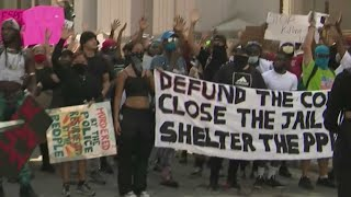 A Peaceful Day Of Protests In Miami-Dade