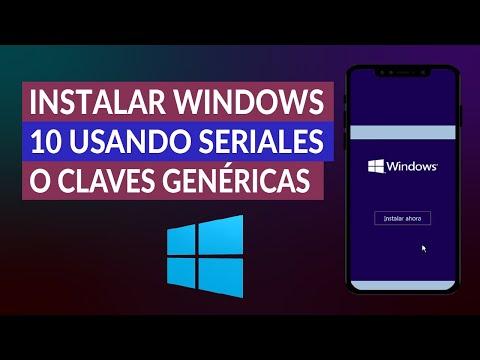& iQuest; C & oacute; how to install Windows 10 Free Using Serial or Gen Keys & eacute;? rich