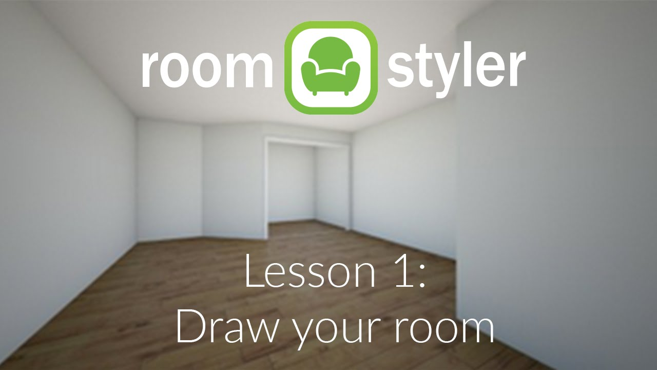 Roomstyler Lesson 1 Draw Your Room