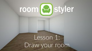 Roomstyler Lesson 1: Draw your room