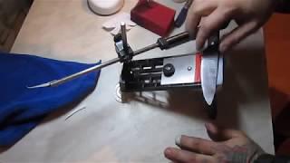 Делаем нож без электроинструмента #22 - заточка(все видео из этого раздела, смотрите на моем канале в плейлисте https://www.youtube.com/playlist?list=PLOoCzJk19TeTyNP1pzOFE-bN9R3iMCCra..., 2012-12-01T22:14:22.000Z)