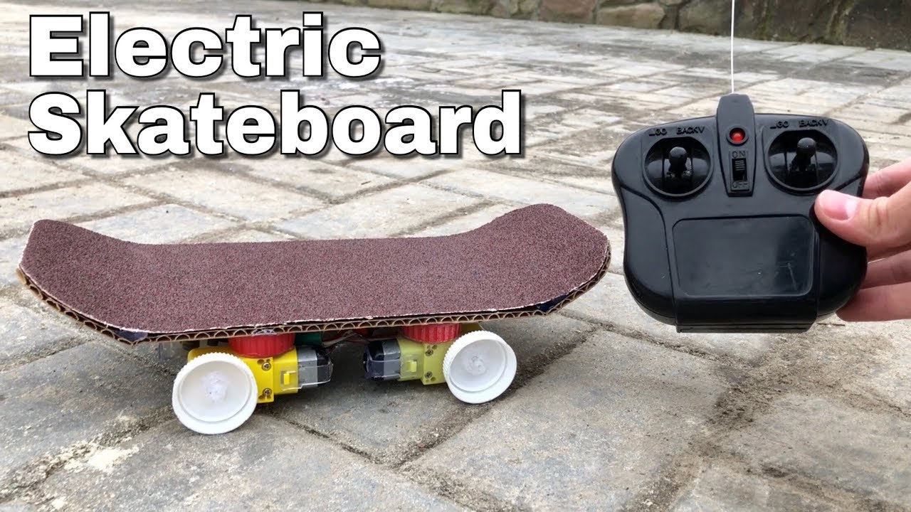 how to make skateboard at home