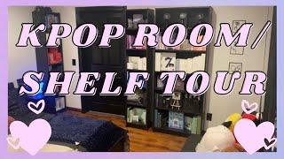 KPOP ROOM / SHELF TOUR (album collection / bts collection)