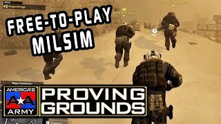 AMERICA'S ARMY: PROVING GROUNDS | Hospital / Sandstorm | MILSIM (Tactical Gameplay)