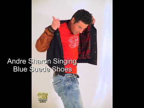 Andre Sharon Singing, Blue Suede Shoes
