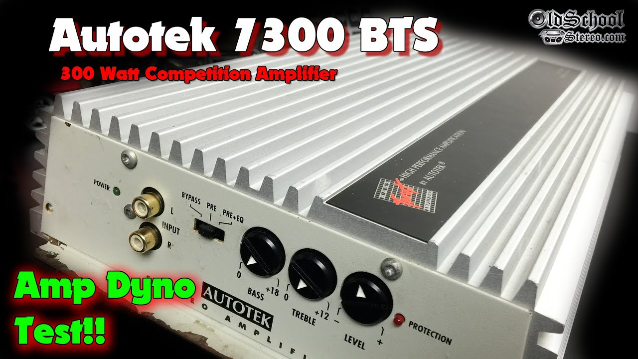 small resolution of 1992 autotek 7300bts amp dyno test old school youtube alpha wiring diagram autotek amp wiring diagram