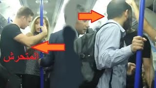 A young Muslim girl defends foreign impress passengers