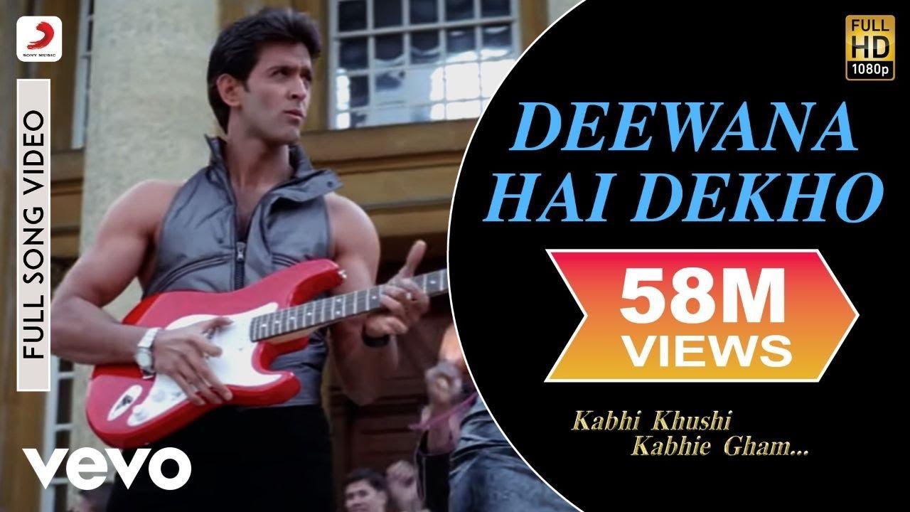 Download K3G - Deewana Hai Dekho Video | Kareena Kapoor, Hrithik Roshan