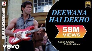 Download K3G - Deewana Hai Dekho Video | Kareena Kapoor, Hrithik Roshan Mp3 and Videos