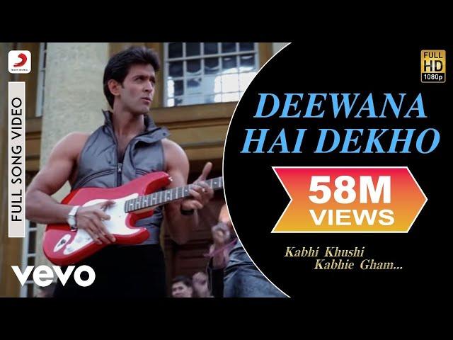 K3G - Deewana Hai Dekho Video | Kareena Kapoor, Hrithik Roshan