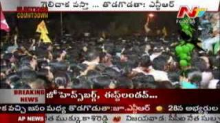 NTR speech on khammam district roadshow - 1