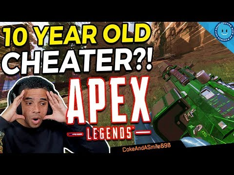 I Thought This 10-Year Old Kid Was a GOD at Apex Legends...Until I Caught Him Cheating! (Gameplay)
