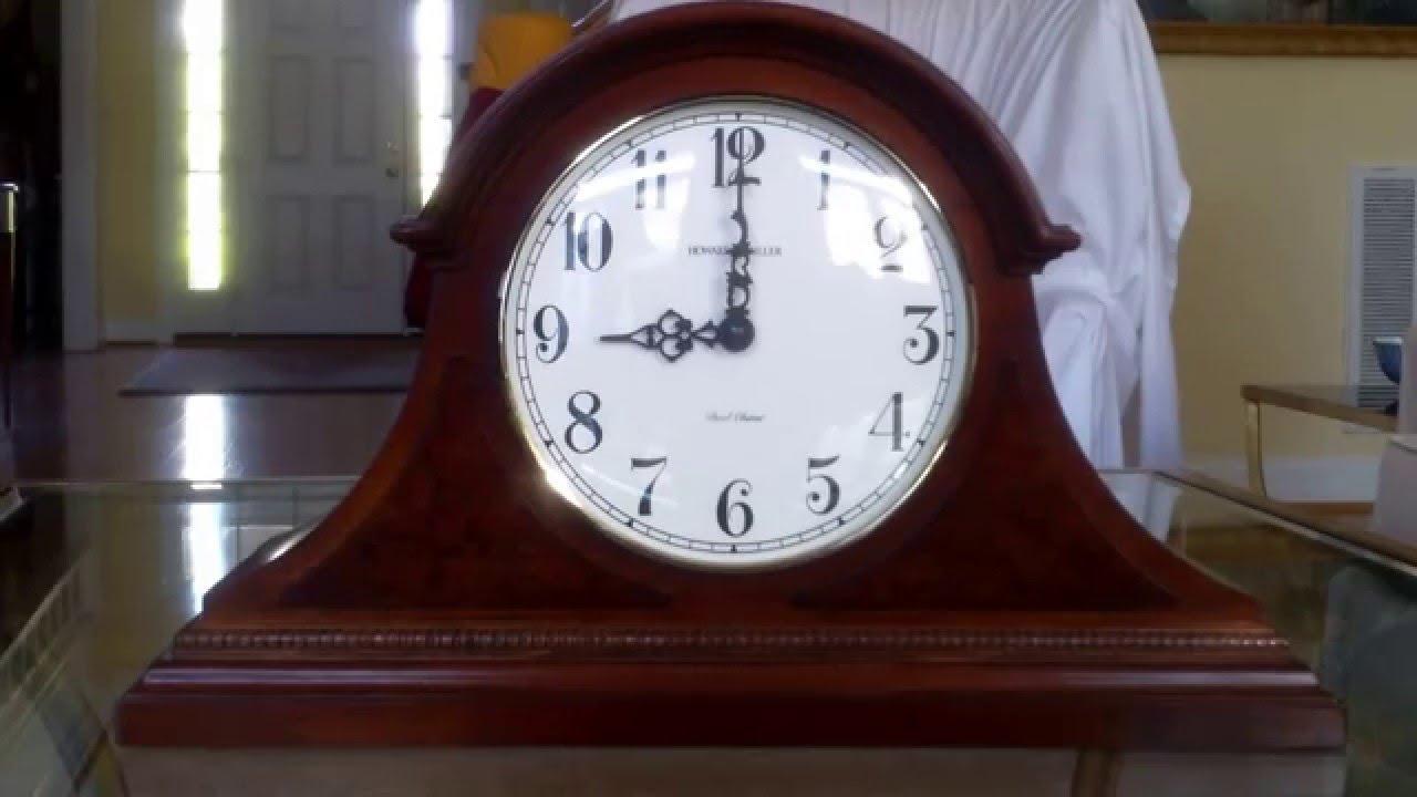 Howard Miller Battery Operated Dual Chime Mantle Clock Bim Bam